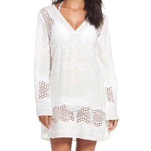 La Blanca V-Neck Coverup